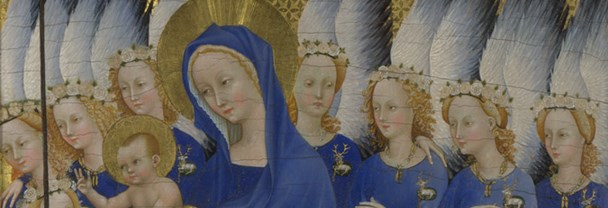 Detail of 'The Wilton Diptych'