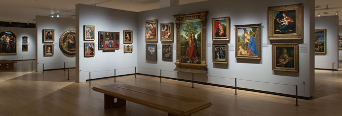 Gallery A: Paintings 1250-1600