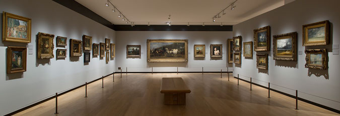 Gallery A: Paintings after 1600