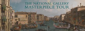 Detail from Canaletto: 'A Regatta on the Grand Canal', about 1740