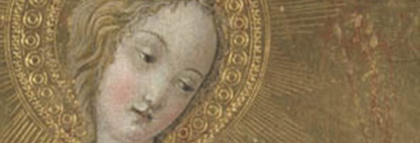 Detail from Francesco di Giorgio: 'Saint Dorothy and the Infant Christ'