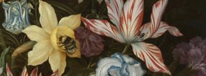 Ambrosius Bosschaert the Elder, A Still Life of Flowers in a Wan-Li Vase, 1609-10