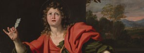 Domenichino, 'Saint John the Evangelist', late 1620s