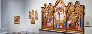 Altarpiece in Sainsbury Wing