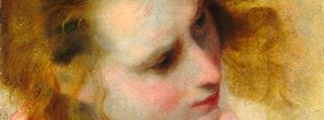 Detail from Federico Barocci, 'Head Study for St. John the Evangelist'