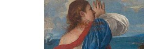 Detail from Titian, Bacchus and Ariadne, 1520-3