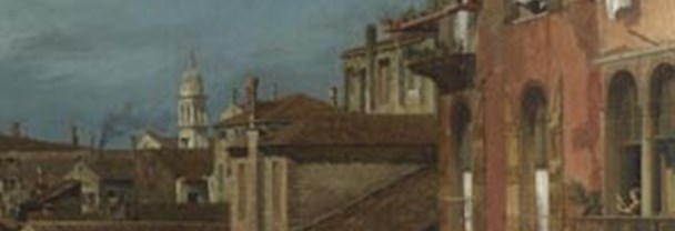 Detail from Canaletto, 'The Stonemason's Yard', 1727-28