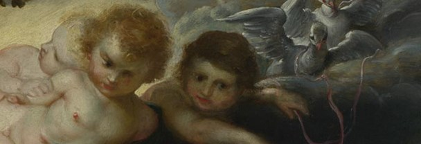 Detail from Rubens, 'The Judgement of Paris', about 1597-9