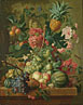 Paulus Theodorus van Brussel: 'Fruit and Flowers'