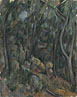 Paul Cézanne: 'The Grounds of the Château Noir'