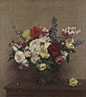 Ignace-Henri-Théodore Fantin-Latour: 'The Rosy Wealth of June'