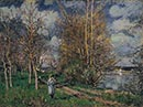 Alfred Sisley: 'The Small Meadows in Spring'