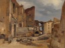 French (?): 'Excavation of the Roman Theatre, Orange, France'