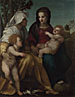 Andrea del Sarto: 'The Madonna and Child, Saint Elizabeth and the Baptist'