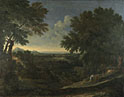Gaspard Dughet: 'Landscape with Abraham and Isaac'