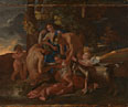 Nicolas Poussin: 'The Nurture of Bacchus'