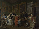 William Hogarth: 'Marriage A-la-Mode: 1, The Marriage Settlement'