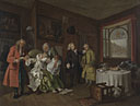 William Hogarth: 'Marriage A-la-Mode: 6, The Lady's Death'