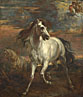 Style of Anthony van Dyck: 'The Horses of Achilles'