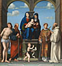 Francesco Francia: 'The Virgin and Child with Saint Anne and Other Saints'