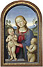 Associate of Pietro Perugino: 'The Virgin and Child with Saint John'