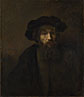 Rembrandt: 'A Bearded Man in a Cap'