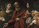 Guido Reni: 'Lot and his Daughters leaving Sodom'