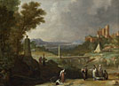 Bartholomeus Breenbergh: 'The Finding of the Infant Moses by Pharaoh's Daughter'