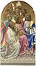 Lorenzo Monaco: 'Adoring Saints: Left Main Tier Panel'