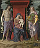 Andrea Mantegna: 'The Virgin and Child with Saints'