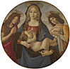 Workshop of Sandro Botticelli: 'The Virgin and Child with Saint John and an Angel'