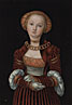 Lucas Cranach the Elder: 'Portrait of a Woman'