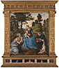 Filippino Lippi: 'The Virgin and Child with Saints Jerome and Dominic'