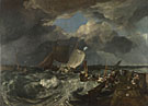 Joseph Mallord William Turner: 'Calais Pier'