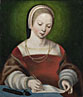 Netherlandish: 'A Girl Writing'