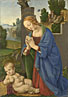 Lorenzo di Credi: 'The Virgin adoring the Child'
