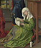 Rogier van der Weyden: 'The Magdalen Reading'