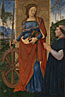 Pintoricchio: 'Saint Catherine of Alexandria with a Donor'