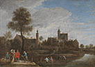 David Teniers the Younger: 'A View of Het Sterckshof near Antwerp'