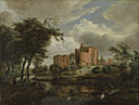 Meindert Hobbema: 'The Ruins of Brederode Castle'