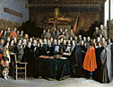 Gerard ter Borch: 'The Ratification of the Treaty of Münster'