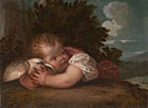 Titian or Titian workshop: 'A Boy with a Bird'