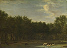Adriaen van de Velde: 'The Edge of a Wood'