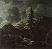Jacob van Ruisdael: 'A Torrent in a Mountainous Landscape'