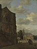 Jan van der Heyden: 'An Imaginary View of Nijenrode Castle'