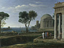 Claude: 'Landscape with Aeneas at Delos'