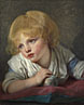 Jean-Baptiste Greuze: 'A Child with an Apple'