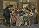 Dirck Hals: 'A Party at Table'