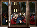 Netherlandish: 'The Virgin and Child with Saints and Angels in a Garden'