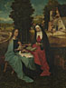 Netherlandish: 'The Virgin and Child with Saint Anne'